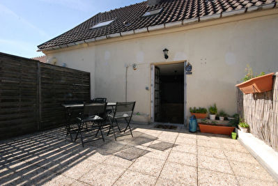 Appartement type F3 56 m² avec Terrasse CHEVRY COSSIGNY